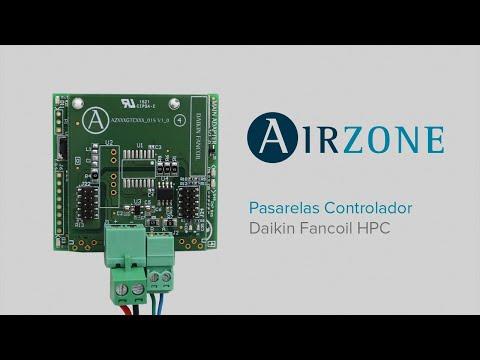 Instalación - Pasarela Controlador Airzone Daikin Fancoil HPC