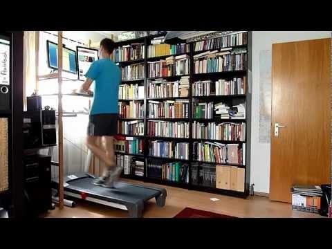 Ergonomischer Arbeitsplatz: Laufband
