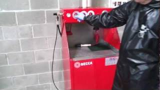S700M Solvent Spray Gun Cleaner Workstation – Features