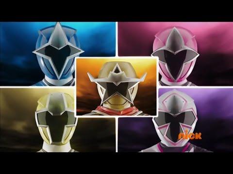 Power Rangers Ninja Steel - Rangers Morph and Roll Call (Gold Ranger)