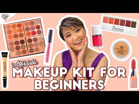 AFFORDABLE, SULIT, AT BEGINNER-FRIENDLY KIKAY KIT | DRUGSTORE MAKEUP KIT | MAE LAYUG