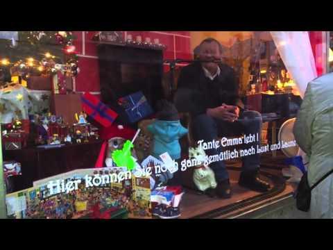OBs im Schaufenster – Achim Exner liest Weihnachtsgedichte