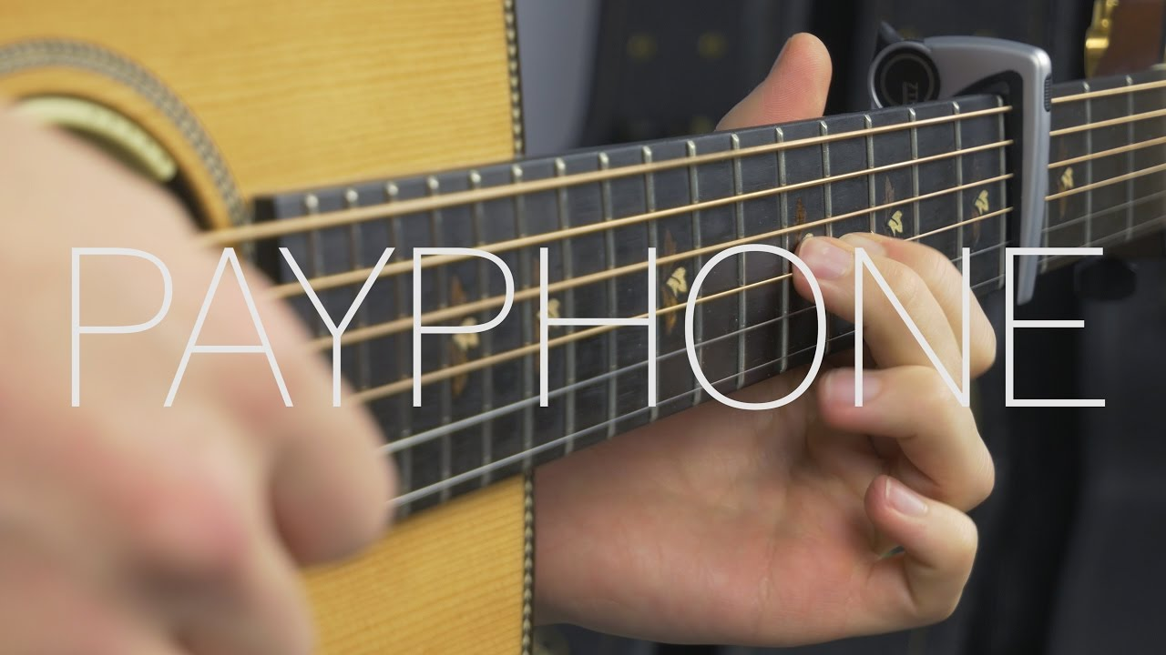 Maroon 5 – Payphone – Fingerstyle Guitar Cover By James Bartholomew