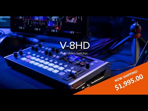 The New Roland V-8HD Video Switcher/Mixer