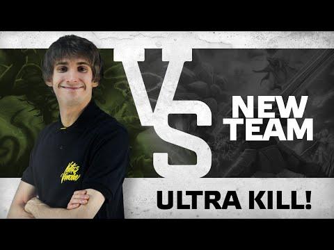 Ultra kill! by Dendi vs newteam123 @ ESL One EU Quals
