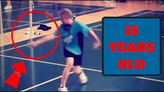 Badminton TRICK SHOTS by Jonathan Brinch (15 years old)You will become a badminton legend if you subscribe to my channel ! ;) (and it's free): https://www.youtube.com/channel/UCufWs6FOuuzDXP0ytlec3aQ?sub_confirmation=1 My name is Jame. I'm 18 and I play badminton in competition since I was 12. I would like that this sport become more famous.With Badminton Passion: https://www.youtube.com/channel/UCeECp5qjCaVqwI-aZEh2kAwGet badminton products:Fz Forza: http://www.fz-forza.comFollow me:Patron: https://www.patreon.com/badmintontrickshotsFacebook https://www.facebook.com/Badminton-Trick-Shots-964311733601762/Instagram: https://www.instagram.com/badmintontricks/Twitter https://twitter.com/BadmintonShotTipeee https://www.tipeee.com/badminton-trick-shotsMy website:https://badmintontrickshots.wordpress.com/My Store:https://badmintontrickshots.selz.comAnd Support Solibad http://www.solibad.net/Music of intro: VIP - Manic DriveMusic of outro: Zara Larsson - Ain't My Fault (R3hab Remix)