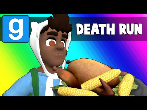 Gmod Death Run Funny Moments - Ceaseless Thanksgiving Puns! (Garry's Mod) (видео)