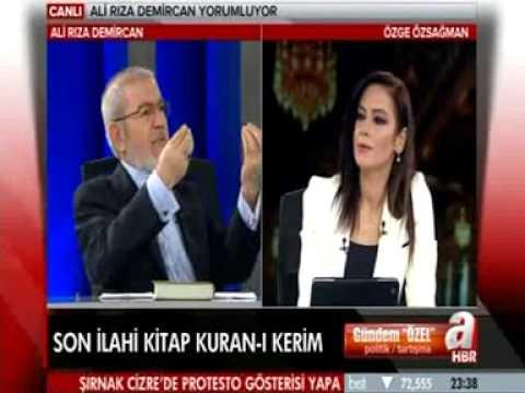 Kuran-ı Kerim'in içeriği - Ali Rıza DEMİRCAN - Özge ÖZSAĞMAN A Hbr