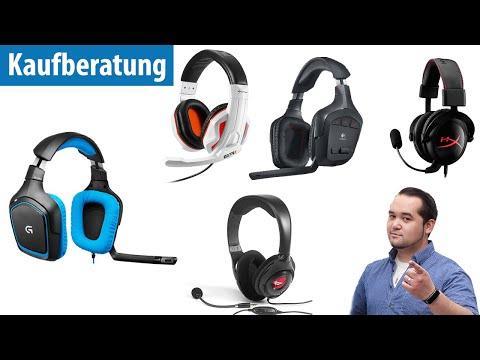 Die 5 beliebtesten Gaming - Headsets im Test | deutsch / german