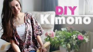 DIY Kimono | Beginner's Sewing Project - YouTube