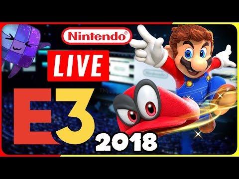 🔴 E3 2018 NINTENDO Präsentation LIVE REACTION
