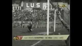 Schiaffinos Treffer für den AC Milan (1954-1960)