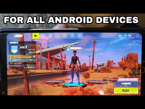 Fortnite Mobile APK For Non Samsung Users - Fortnite Mobile GPU Not Compatible Fixed (Description)