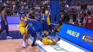 Gilas - Australia brawl | FIBA World Cup 2019 Asian Qualifiers