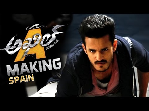 Akhil Akkineni Movie Spain Schedule Making Video