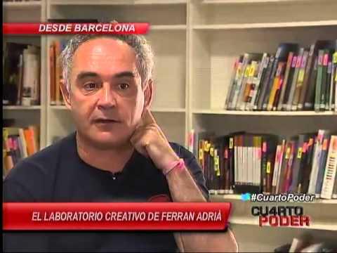 El arte del chef Ferran Adrià