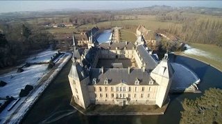 La vie de château en hiver