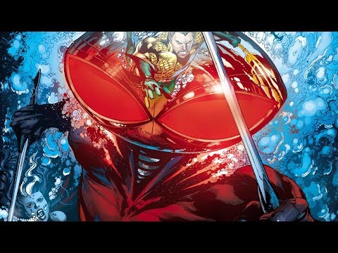 BLACK MANTA INJUSTICE 2 GAMEPLAY | SUPER MOVE, ENDING & LEGENDARY RED GEAR!