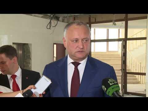 Igor Dodon a efectuat o vizită de documentare la sediul Președinției Republicii Moldova
