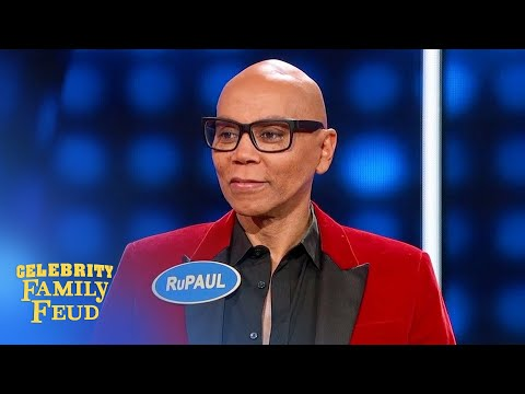 It's RuPaul's Drag Race vs. The Bold Type! | Celebrity Family Feud