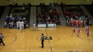 Rochester High School Boys JV Basketball vs Plymouth