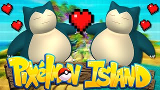 Minecraft: PIXELMON ISLAND SMP - Episode 14: BREEDING POKEMON (Pokemon Mod)