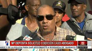 Solicitan un año de prisión preventiva contra implicados en homicidio del abogado Yuniol Ramírez