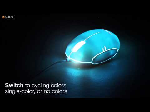Satechi Spectrum Mouse Wired Optical Mouse