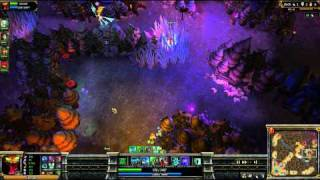 (HD 05) 5c5 cho gath part 3 - League Of Legend replays [FR] -