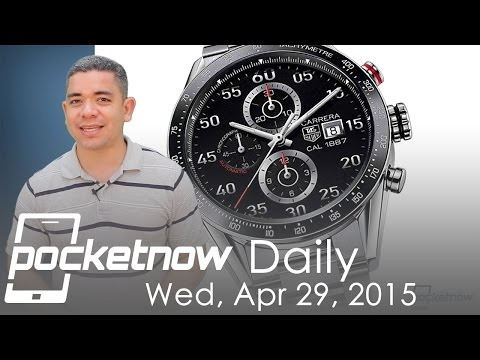 Tag Heuer smartwatch price, Samsung Q1 results, Microsoft Build & more – Pocketnow Daily