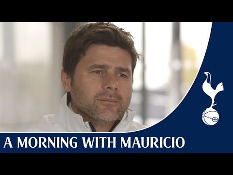 Video: A Morning with Mauricio Pochettino
