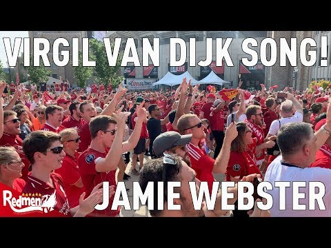 Amazing Virgil Van Dijk Song Before Liverpool Play At Notre Dame! | Jamie Webster |
