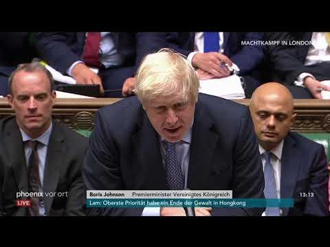 Brexit: Fragestunde im britischen Unterhaus mit Premi ...