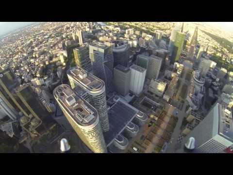 drone - Paris, La Défense, Europe's largest business district like you've never seen it before ! Paris, La Défense, le plus grand quartier d'affaires d'Europe comme ...