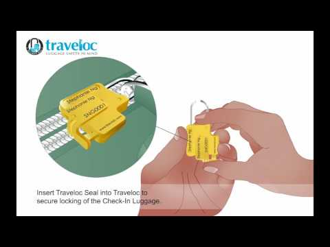 Personalised Traveloc - Yellow