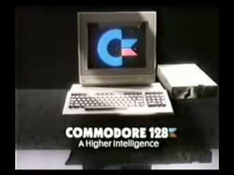 Commodore 128 commercial 1986