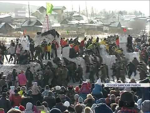 """Фестиваль """"Сибирская Масленица"""" ЕНИСЕЙ РЕГИОН НОВОСТИ"""