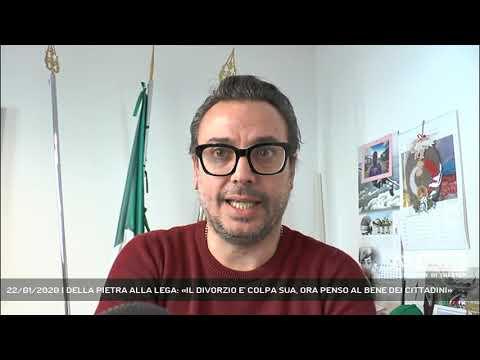 22/01/2020 | DELLA PIETRA ALLA LEGA: «IL DIVORZIO E' COLPA SUA, ORA PENSO AL BENE DEI CITTADINI»