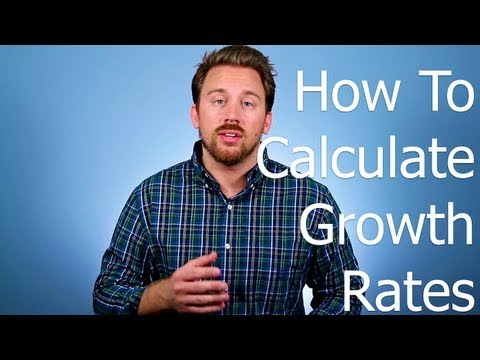 How To Calculate Growth Rates