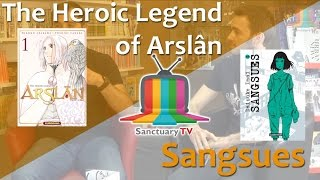 Manga Sanctuary - L'émission S01E04 - The Heroic Legend of Arslân / Sangsues