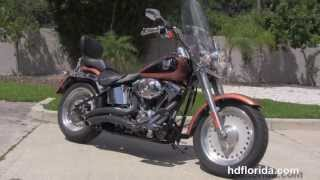 10. Used 2008 Harley Davidson Fat Boy 105th Anniversary Edition Motorcycle for sale