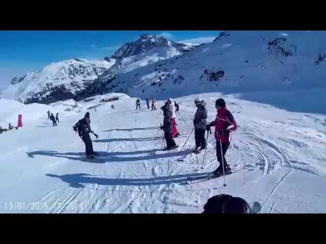 SJ4000 Akcijska kamera Ski test | Autokamera.hr