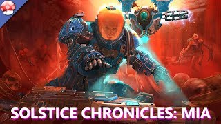 "Solstice Chronicles: MIA Gameplay (PC HD) [4K/60fps]-----------------Steam PC Game Performance Review (No Commentary)GPU: Nvidia Geforce GTX 1080 TiCPU: Intel i7 7700K Kaby LakePSU: EVGA SUPER NOVA GOLD 850WRAM: Corsair Special Edition 32GB DDR4HDD: Samsung 960 M2 500GB SSDSystem: Windows 10 ProUltra Settings Benchmark-----------------Walkthrough - https://www.youtube.com/playlist?list=PLslfvIJAupsxYRIbkQaylzyzXUOo8LP46Video - https://www.youtube.com/user/tr1ppa?sub_confirmation=1________________________________________Game Information: http://store.steampowered.com/app/528160/Battle for survival against waves of Martian mutants in this tactical twist on twin-stick shooters. Using the skills of your drone companion, make fight-or-flight decisions that drastically alter the threats faced. Develop RPG like skill trees across four classes--Assault, Demolition, Hellfire, and Terminator. Become the ultimate instrument of destruction. 2017 release on PC by Ironward. We learned that tactics can be great in our first game The Red Solstice, and we're adding that into ""Solstice Chronicles: MIA""_______________________________________"