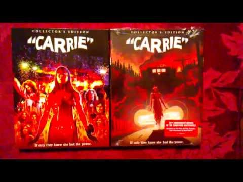 Carrie | 40th Anniversary Deluxe Edition | Blu-ray Unboxing
