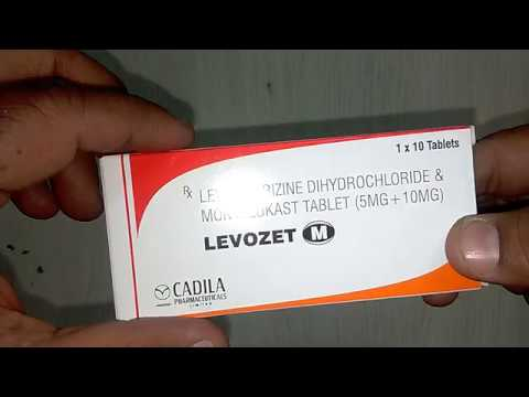 Levozet M Tablets review