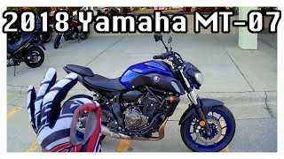 8. 2018 Yamaha MT 07 First Ride