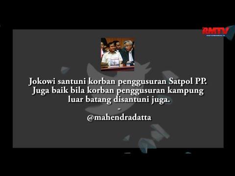 Korban Penggusuran Satpol PP Disantuni, Warga Kampung Luar Batang Juga Dong!