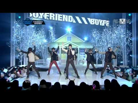 HD 111208 (8 Dec 2011) BOYFRIEND - I'll Be There Live @ Mnet M!Countdown