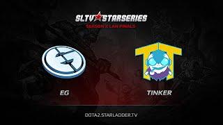 TTinker vs Evil Genuises, game 1