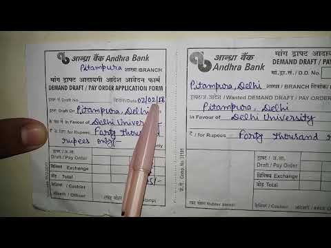 Video How to fill Andhra Bank DD Form:: fully explained download in MP3, 3GP, MP4, WEBM, AVI, FLV January 2017